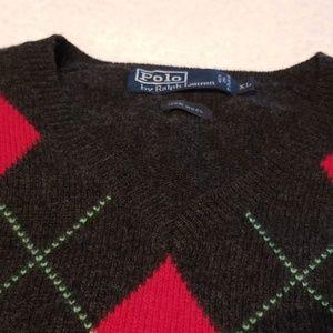 Polo Jeans Ralph Lauren Lauren Men Argyle Sweater